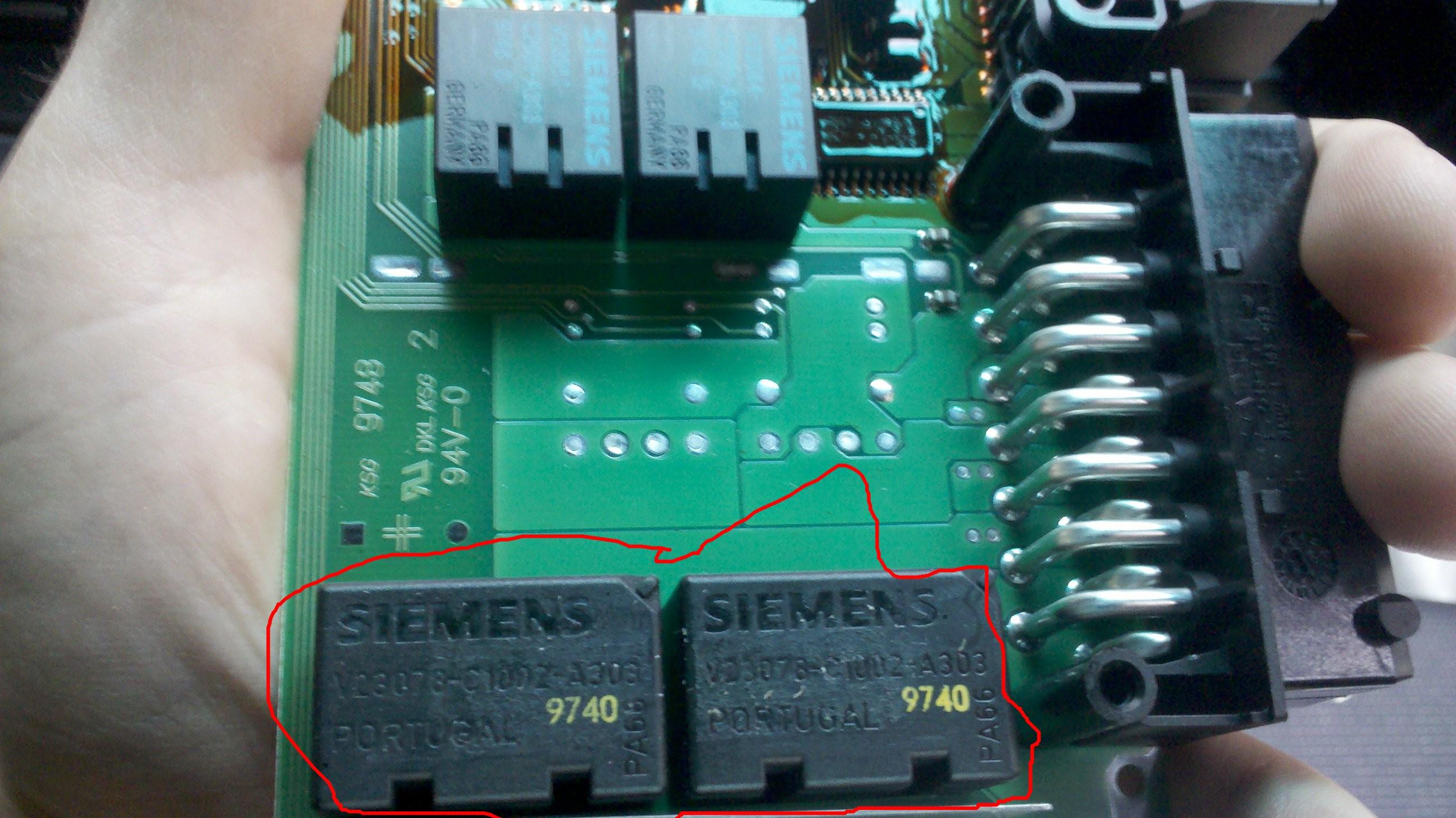 Centrale di bloccaggio relè v23084-c2001-a303 per BMW e46 Citroen VW Mercedes